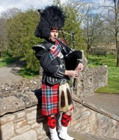 Silver Thistle Piping